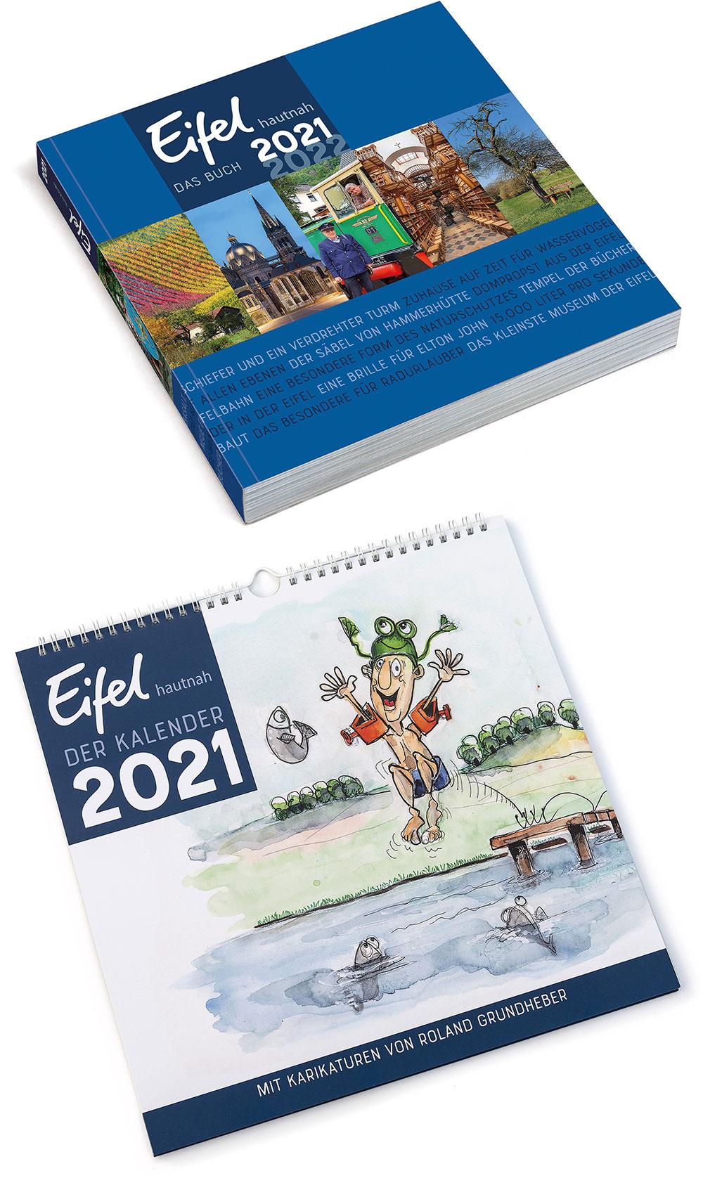Eifel hautnah Das Buch und Der Kalender 2021 online vorbestellen